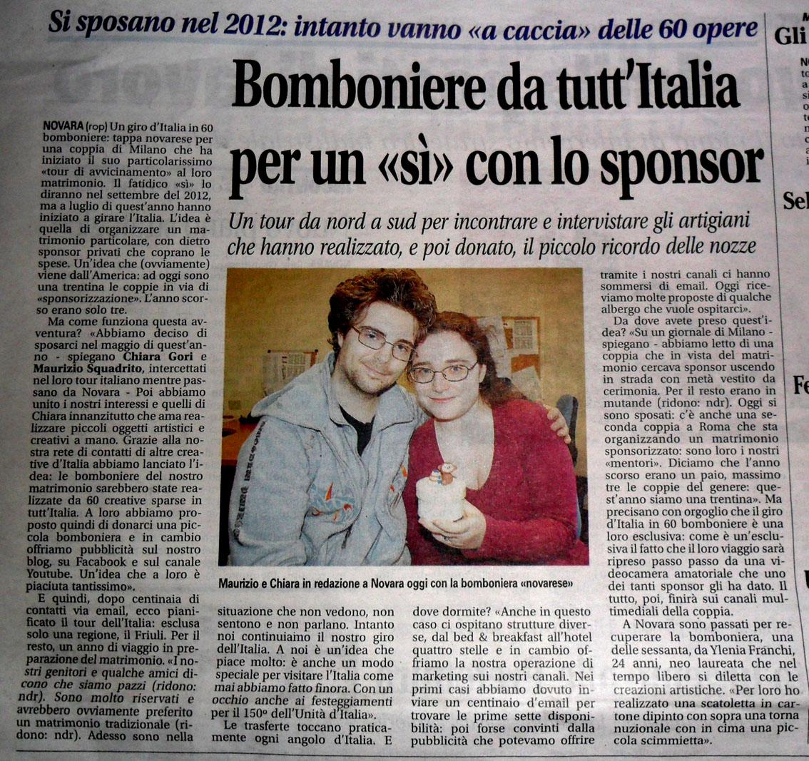 Chiara E Maurizio Matrimonio Con Lo Sponsor Ottobre 2011
