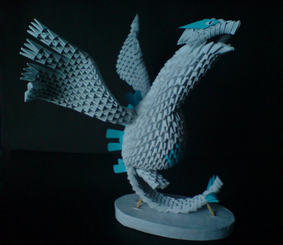 Black and white knight warrior 3d origami black and tutorials below