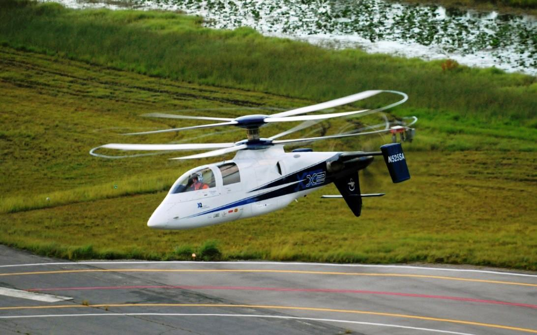 Wallpaper gambar helikopter Sikorsky X2 2