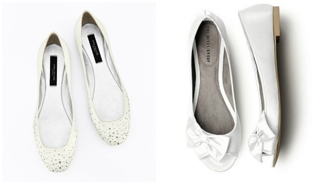 boda zapatos novia wedding shoes bailarinas flats