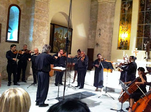 Evelio Tieles, con la Orquesta de Cámara de Camagüey