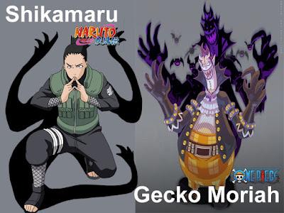 Shikamaru x Gecko Moriah