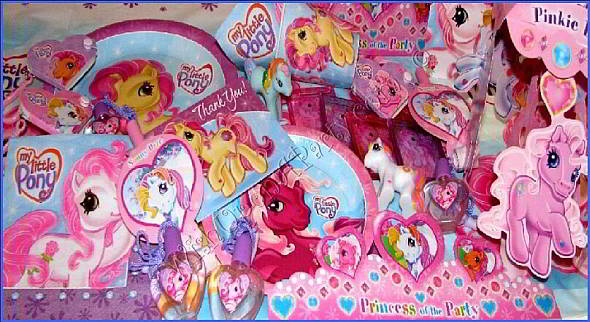 My Little Pony Birthday Party Supplies, My Little Pony Birthday Party ...