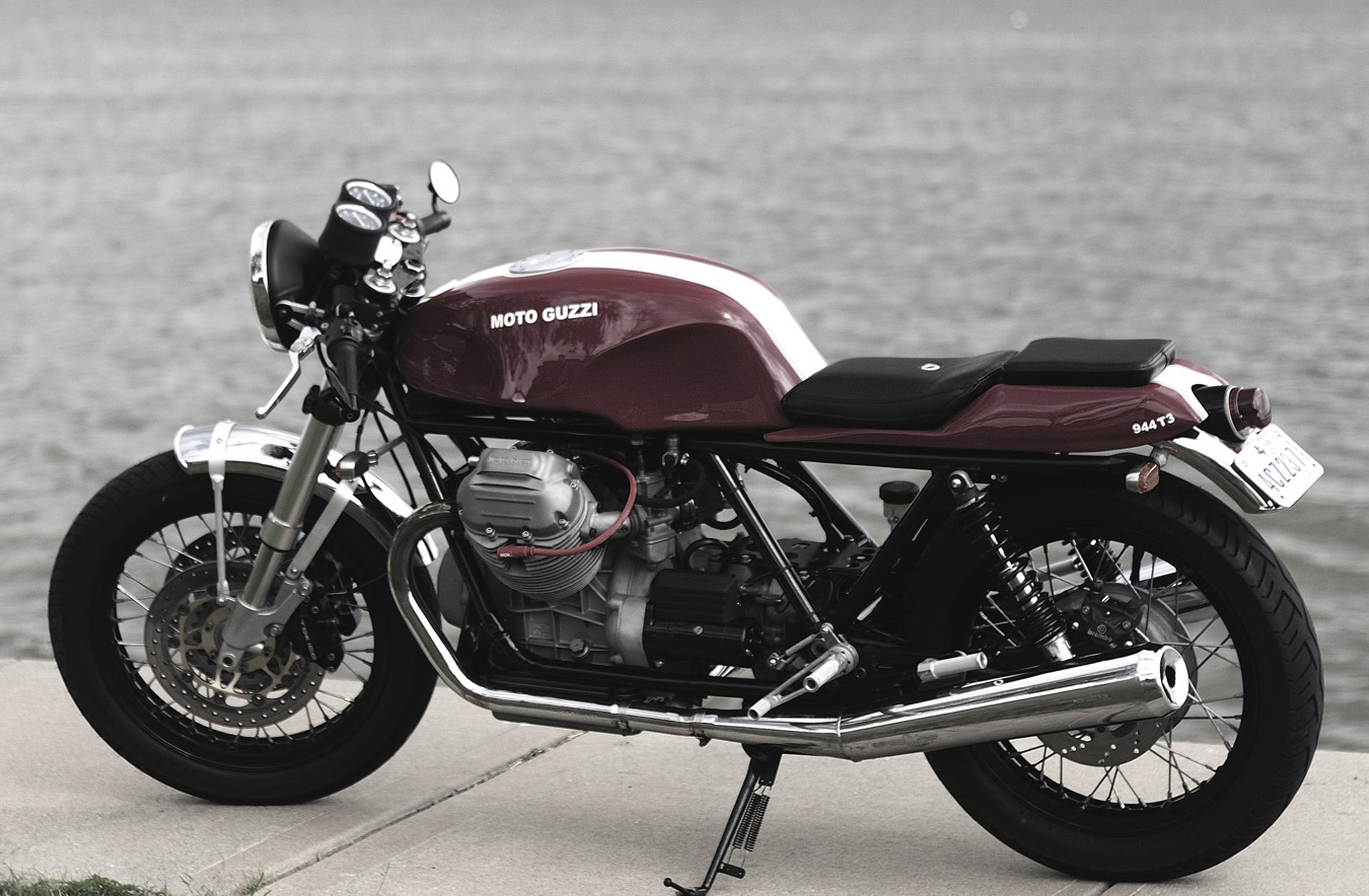 Moto Guzzi 850t3 Cafe Racer Return Of The Cafe Racers