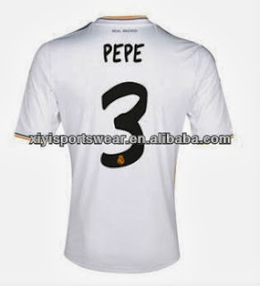Number Real Madrid 2013