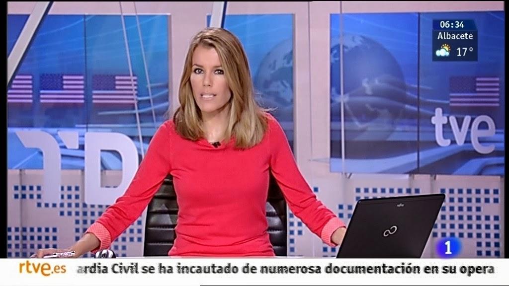 ANA BELEN ROY, TELEDIARIO MATINAL (01.10.13)