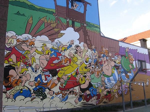 Top 10 Bruxelas: (3) A cidade das histórias em quadrinhos
