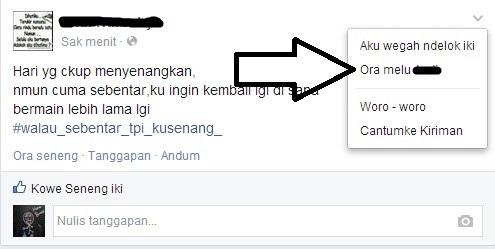 Mengantisipasi Orang-orang Seperti Ini di Facebook