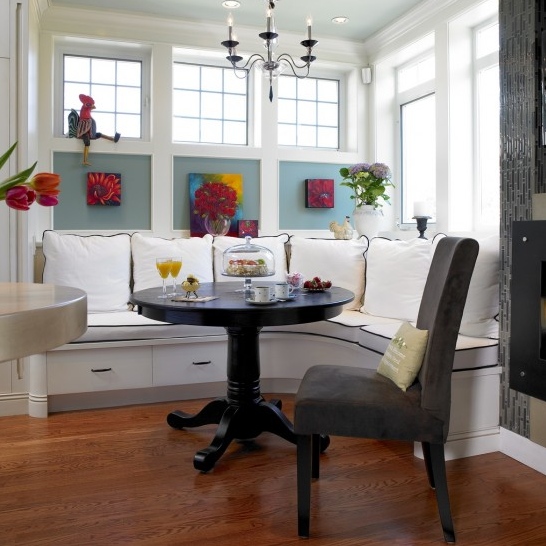 We Love... Built in Kitchen Seating | The London Design & Build ...