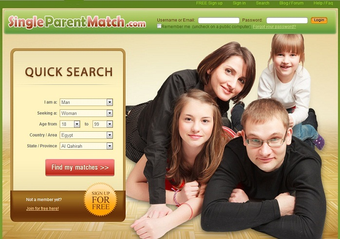 Free dating websites single parents