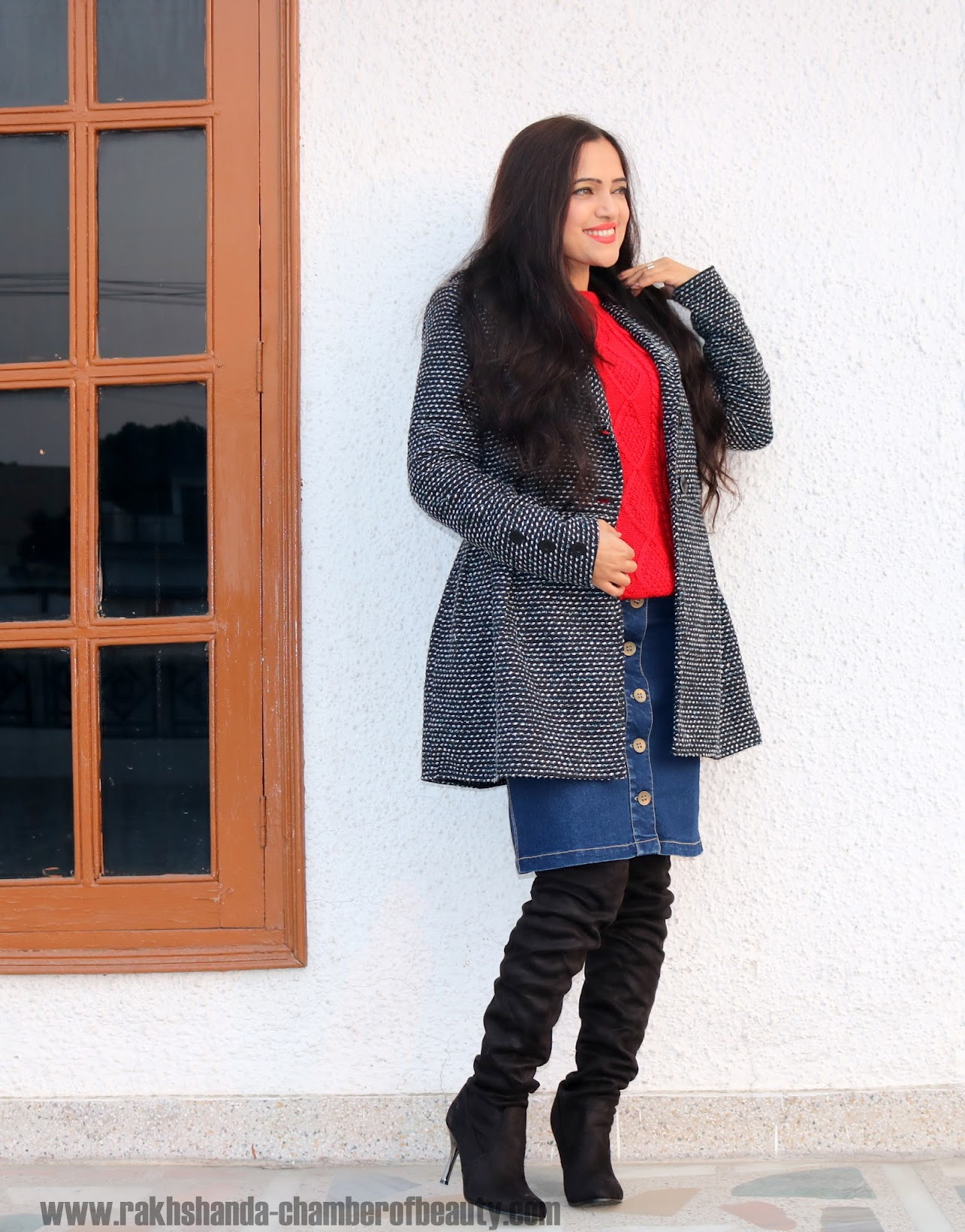 Ways to style a button front denim skirt, Fashion trends 2015, Indian fashion blogger
