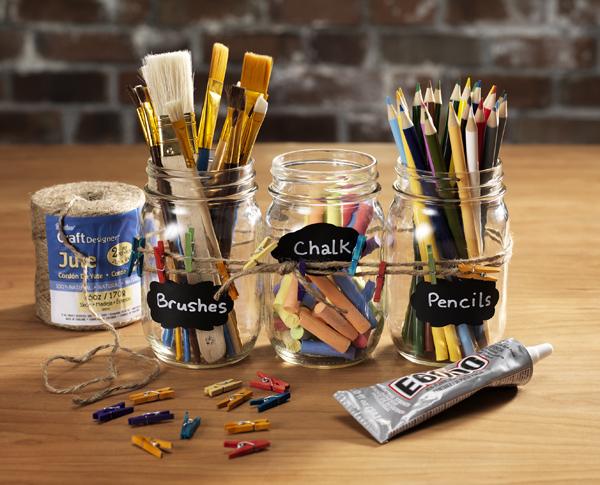 Mason Jar Inspiration @craftsavvy @sarahowens #craftwarehouse #masonjar #decor #diy