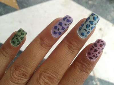 easy to do nails design picture