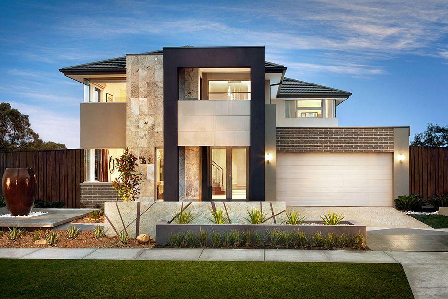 bentuk rumah minimalis elegan tampak depan