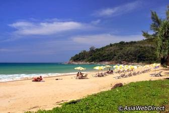 Nai Harn entre as melhores praias de Tailândia