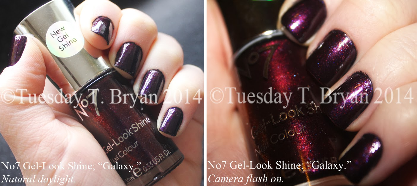 Tuesday T. Bryan: NEW No7 Gel-Look Shine Nail Colour; \