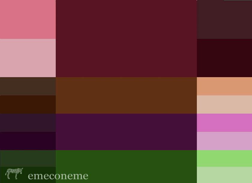 Emeconeme c mo combinar los colores de temporada aw15 - Que colores combinan con el lila ...
