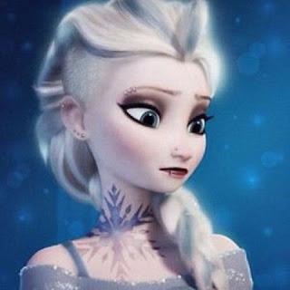 Elsa Frozen lagi galau