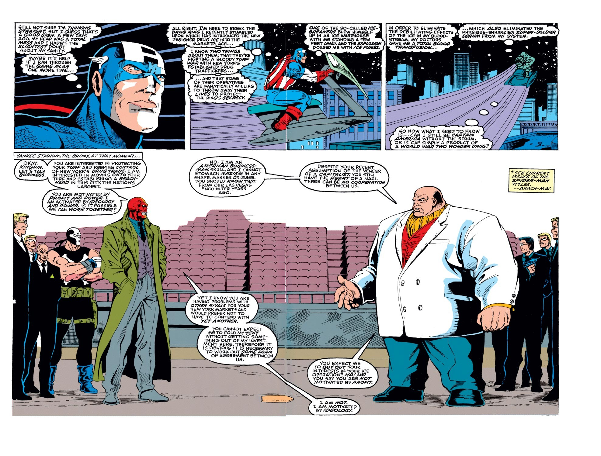 Captain America (1968) Issue #378 #311 - English 3