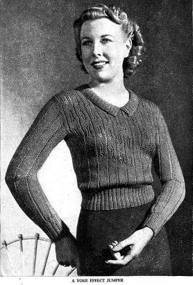 The Vintage Pattern Files 1930 S Knitting The Pictorial
