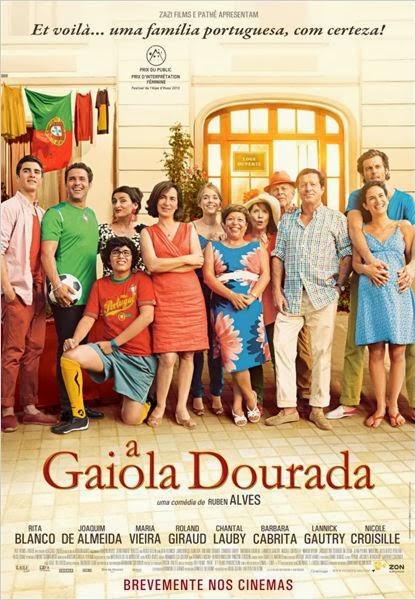 """Poster do filme """"A Gaiola Dourada"""""""