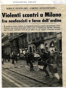 """8 APRILE 1971 """"CORRIERE DELLA SERA"""""""
