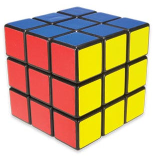 Rubik's Cube - no fun for the color blind