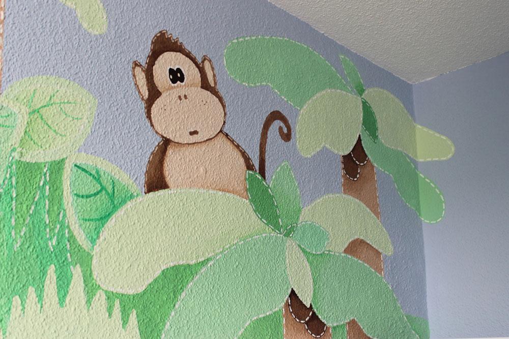 Decopared decoraci n de habitaci n de beb - Como quitar el gotele de una habitacion ...