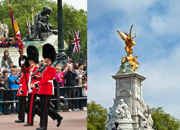 Buckingham Palace Guards London