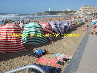 Biarritz, plage, playa