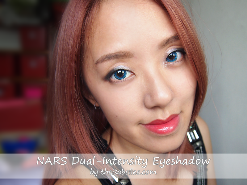 Reviewing NARS Dual-Intensity Eyeshadows