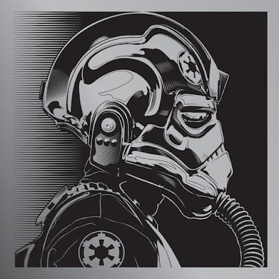 "Star Wars ""TIE Pilot"" Print by Joshua Budich"