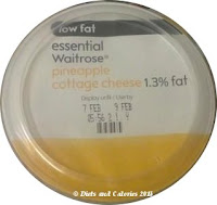 Waitrose Pineapple Cottage Cheese