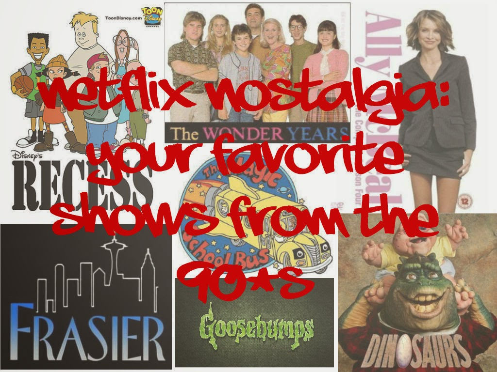 Netflix nostalgia your favorite shows from the 90 39 s on - Your favorite show ...