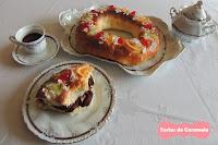Roscón de Reyes: con chocolate y sin relleno
