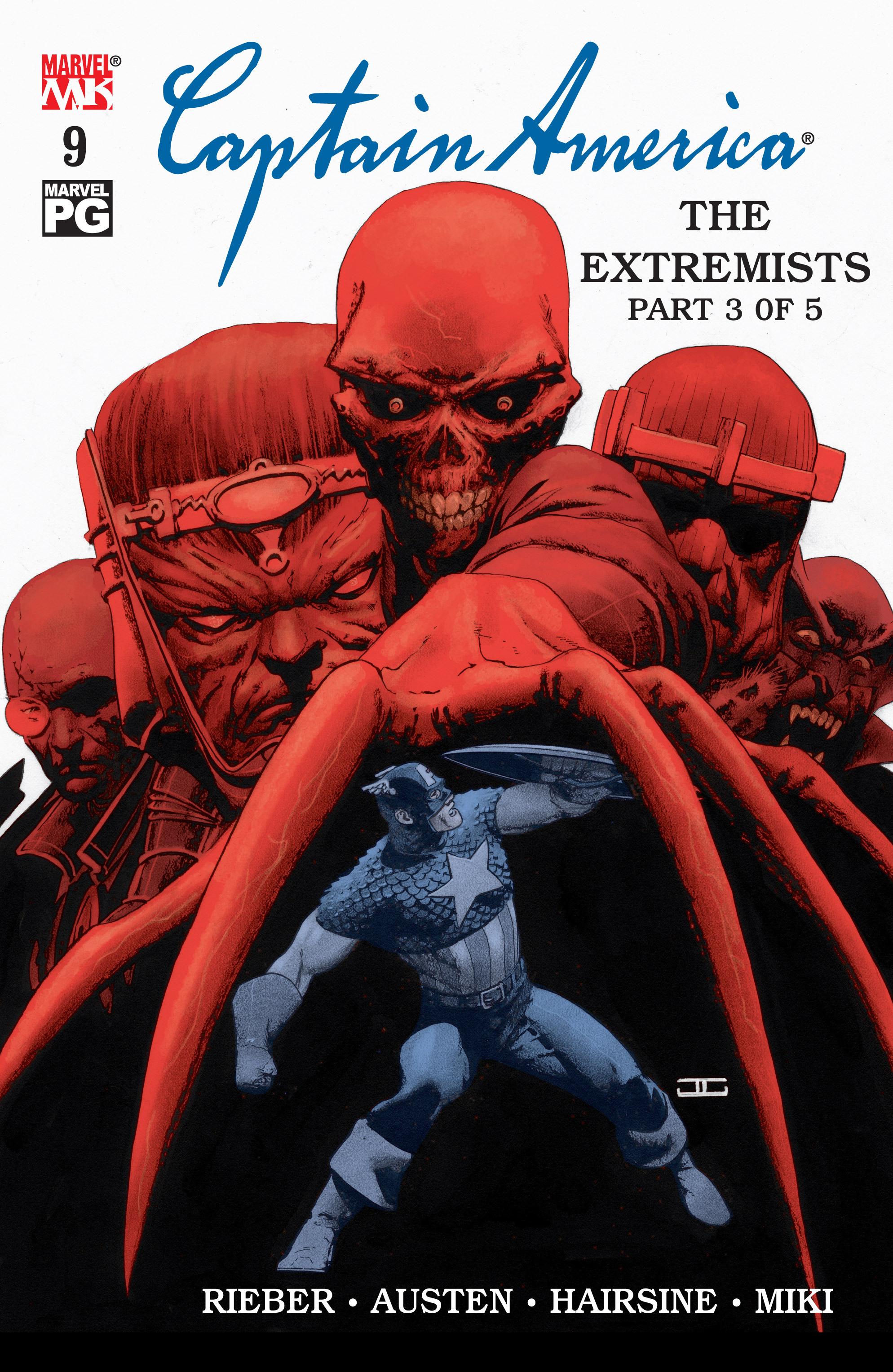 Captain America (2002) Issue #9 #10 - English 1