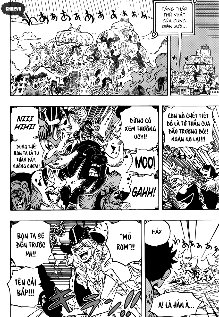 One Piece Chapter 751: Sabo vs. Đô đốc Fujitora 008