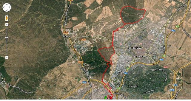 Ruta en bici desde Las Tablas a Valdelatas, Dehesa Boyal y vuelta