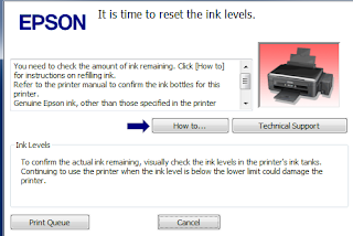 Cara Reset Printer Epson L 350
