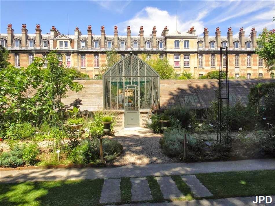 Paris bise art le jardin botanique de la facult de for Jardin botanique paris