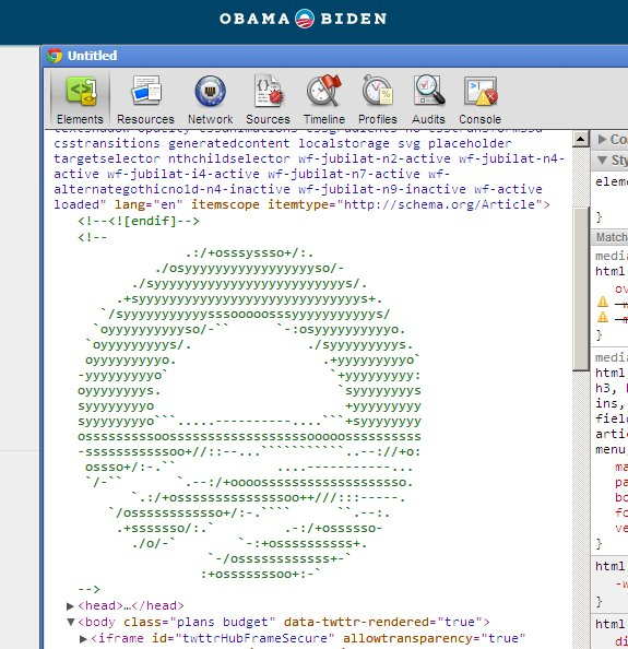 html construct website performing view gtgt source obama website reveals