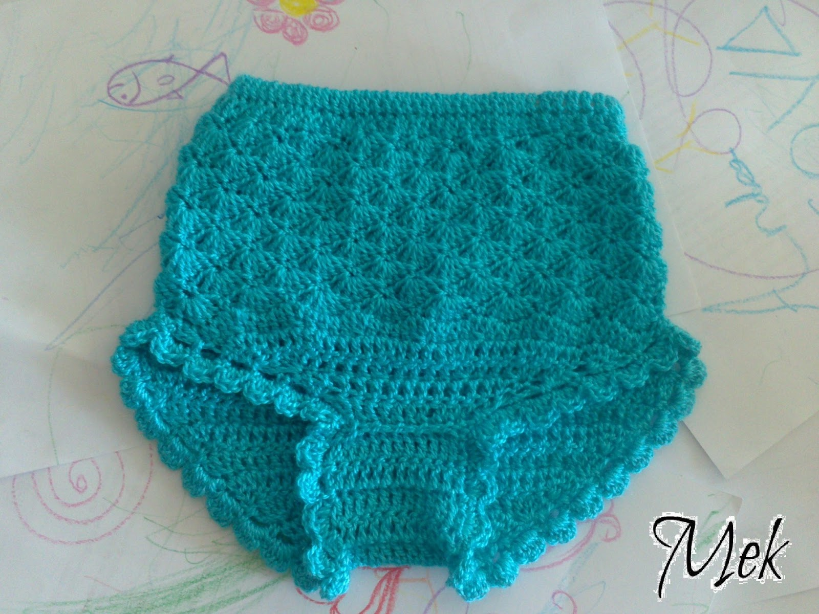 Handmekthings braguita ganchillo para bebe editado - Labores de crochet para bebes ...