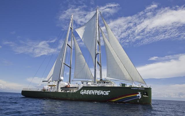 Sepenggal Cerita dari Kapal Rainbow Warrior