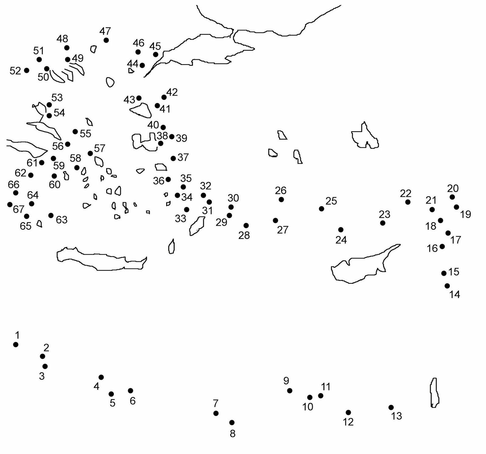 Mi laboratorio de ideas mappa a puntini - Unire i numeri dei punti ...