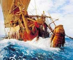kapal kon tiki yang digunakan thor heyerdahl