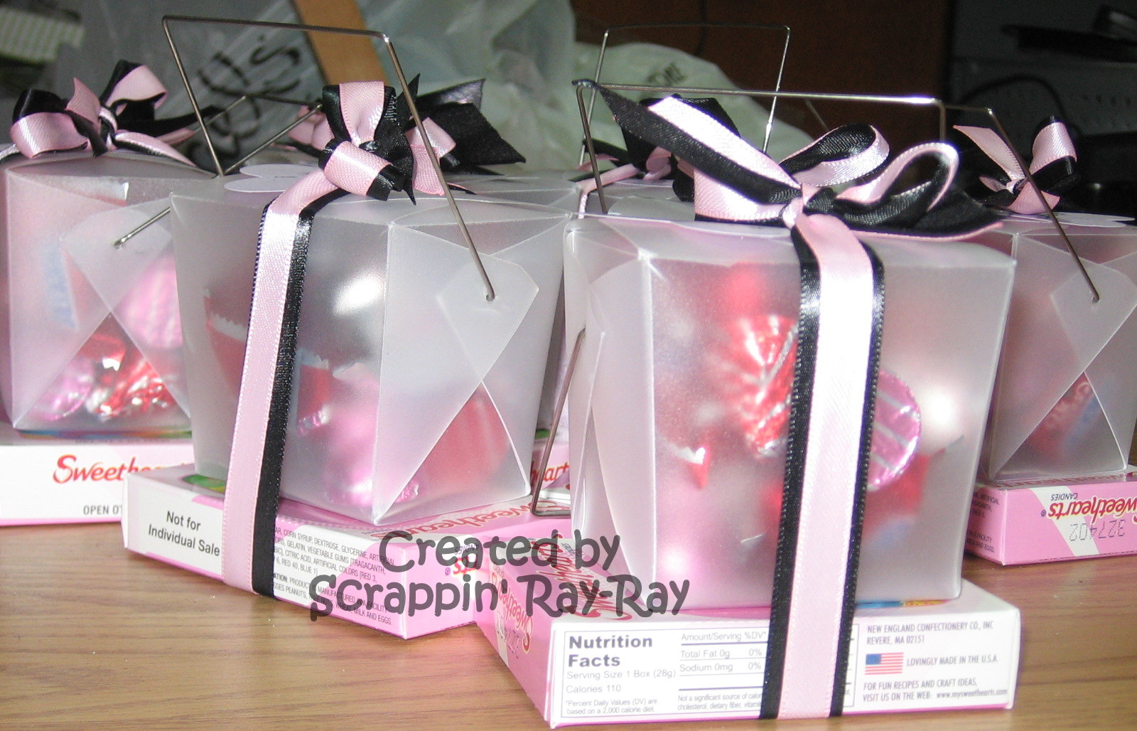 Scrappin\' with Ray-Ray: Teachers\' Valentine\'s Treat Boxes