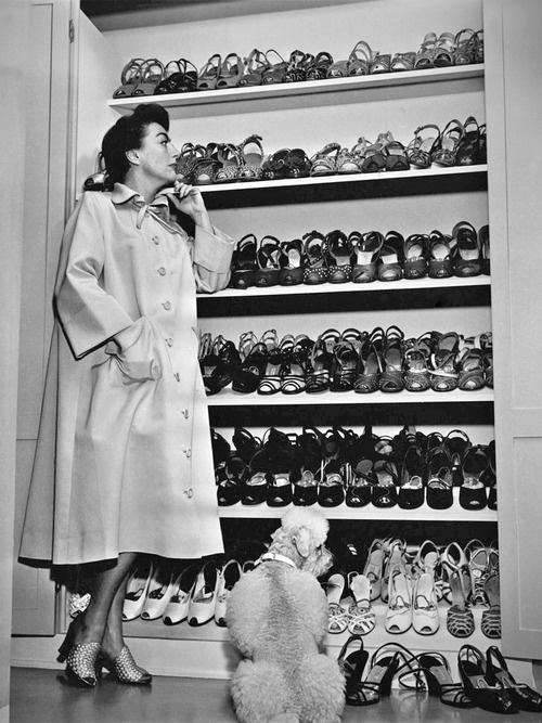 La Poubelle Vintage 1940s Shoe Porn