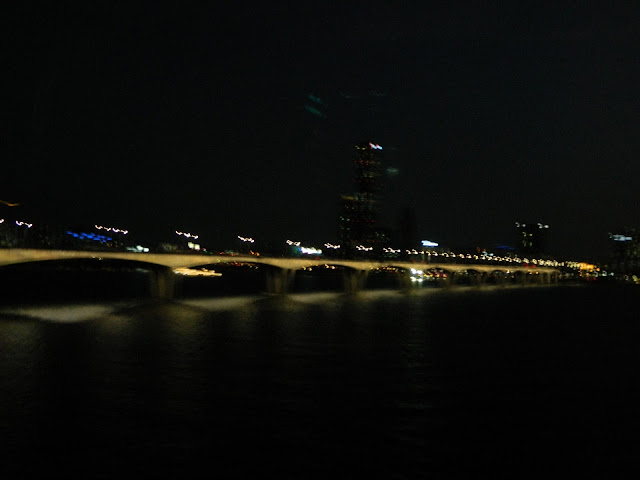 Another bridge over the Han river at night