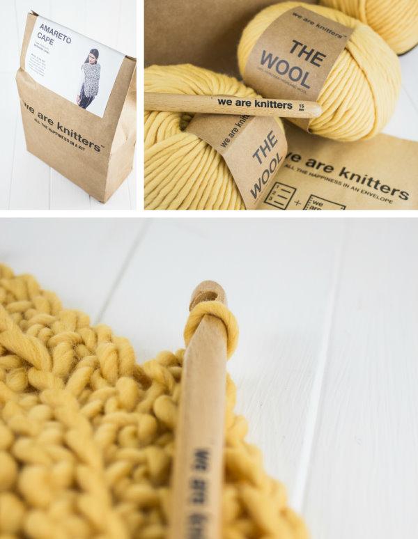 Häkelpaket Cape Amareto von we are knitters