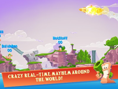 Worms 4 Mod Apk Data V1.0.4 Update Terbaru